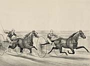 Currier and Ives A Rush for the Heat