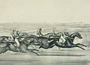 Currier and Ives A Sharp Pace from Start to Finish