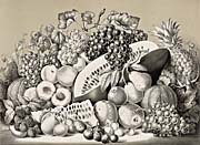 Currier And Ives American Fruit Piece