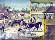 Currier and Ives Bring Up Your Horses