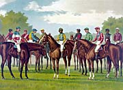 Currier and Ives Celebrated Winning Horses and Jockeys