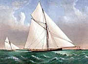 Currier And Ives Cutter Genesta, RY