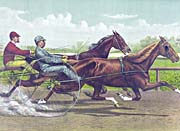 Currier And Ives Going for the Money