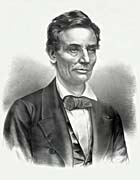 Currier And Ives Hon. Abraham Lincoln of Illinois