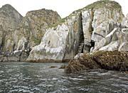 U S Fish And Wildlife Service Castle Rock at Shumagin Islands