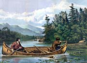 Currier And Ives American Hunting Scenes -- A Good Chance
