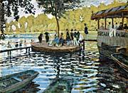 Claude Monet La Grenouillere 1869