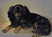 Henriette Ronner Knip Neptune, a King Charles Spaniel