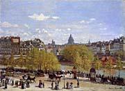 Claude Monet Quai Du Louvre Paris canvas prints