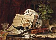 Henriette Ronner Knip A Curiosity for Music