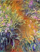 Claude Monet The Path Through The Irises canvas prints