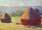 Claude Monet Grainstacks