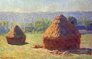 Claude Monet Haystacks canvas prints