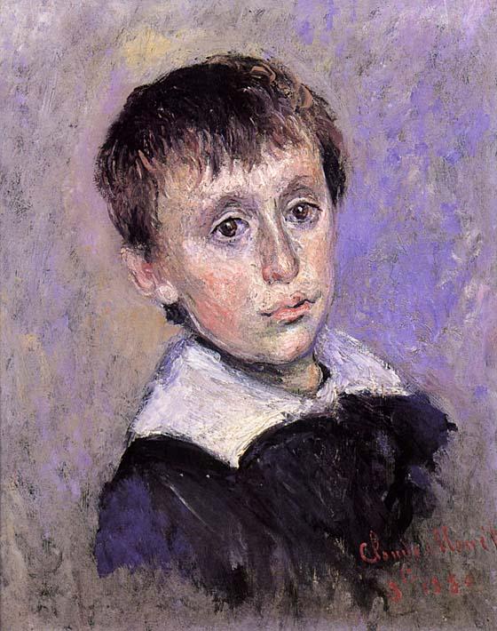 Claude Monet Jean Monet stretched canvas art print