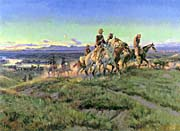 Charles Russell Men of the Open Range