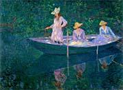 Claude Monet The Bark at Giverny