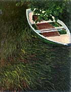 Claude Monet The Empty Boat