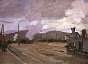Claude Monet The Gare d