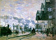 Claude Monet The Western Region Goods Sheds