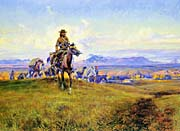 Charles Russell The Romance Makers canvas prints