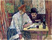 Henri de Toulouse Lautrec A La Mie