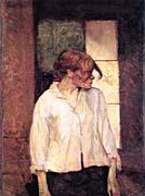 Henri de Toulouse Lautrec A Montrouge - Rosa La Rouge