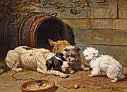 Henriette Ronner Knip Dog Times