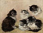 Henriette Ronner Knip Kittens