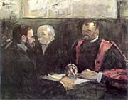 Henri de Toulouse Lautrec An Examination at the Faculty of Medicine, Paris
