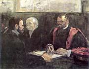 Henri De Toulouse Lautrec An Examination at the Faculty of Medicine, Paris
