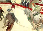Henri De Toulouse Lautrec At The Cirque Fernando The Ringmaster canvas prints