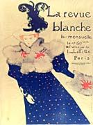 Henri de Toulouse Lautrec Misia Natanson Poster for la Revue Blanche