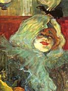 Henri de Toulouse Lautrec At the Rat Mort Detail