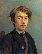 Henri De Toulouse Lautrec Portrait of Emile Bernard