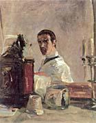 Henri De Toulouse Lautrec Henri De Toulouse Lautrec Self Portrait canvas prints