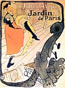 Henri de Toulouse Lautrec Jane Avril Dancing