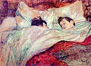 Henri de Toulouse Lautrec The Bed Le Lit