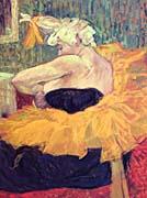 Henri De Toulouse Lautrec The Clown Cha-U-Kao