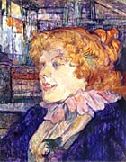 Henri de Toulouse Lautrec The English Girl at the Star in le Havre