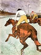 Henri de Toulouse Lautrec The Jockey