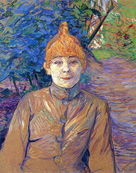 Henri de Toulouse Lautrec The Streetwalker stretched canvas art print