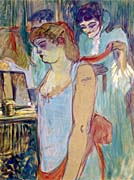 Henri De Toulouse Lautrec The Tattoed Woman or the Toilette
