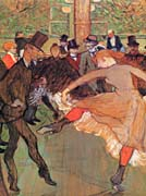 Henri de Toulouse Lautrec Training of New Girls by Valentin the Boneless