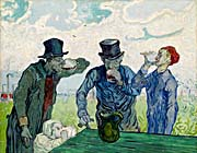 Vincent Van Gogh The Drinkers