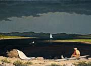 Martin Johnson Heade Approaching Thunder Storm canvas prints