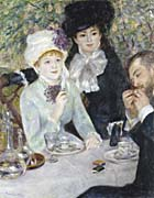 Pierre Auguste Renoir After the Luncheon