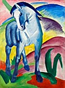Franz Marc Blue Horse 1