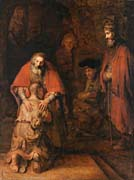 Rembrandt van Rijn The Return of the Prodigal Son