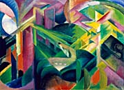 Franz Marc Deer In A Monastery Garden canvas prints