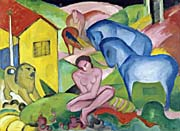 Franz Marc The Dream